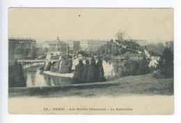 CPA 75  Paris 19 Paris Les Buttes Chaumont Le Belvédère - Arrondissement: 19