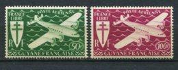 9388  GUYANE  PA 26/7 ** Série De Londres  1945  TB/TTB - French Guiana (1886-1949)