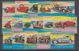 Guinea 1974 Vintage Cards 16v Used Cto (41120) - Equatoriaal Guinea