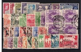 Burma, Used. (30f) - Myanmar (Birmanie 1948-...)