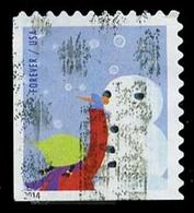 Etats-Unis / United States (Scott No.4942 - Plaisir D'hiver / Winter Fun) (o)  P2 Small ATM - Etats-Unis