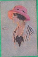 Illustrateur - S. Meunier - Minois De Parisiennes - Editeur: L.E Série 61 N°1 - Meunier, S.