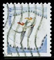 Etats-Unis / United States (Scott No.4941 - Plaisir D'hiver / Winter Fun) (o)  P3 Small ATM - Etats-Unis