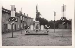 COURCELLES-CHAUSSY  Monument Aux Morts Inauguration Le 11 Septembre 1955 - Frankreich