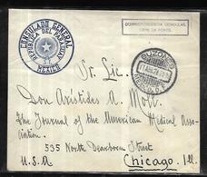Lettre Consulaire Du Mexique Au Paraguay  Pour Chicago Le 11 Avril 1928 - Paraguay