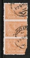 "SAUDI ARABIA  Scott # 168 USED Srip Of 3 ""AS IS"" (Stamp Scan # 426) - Saudi Arabia"