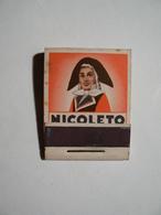 Allumettes En Bois, Pochette Ancienne Neuve, NICOLETO Cigares, Parfait état. - Boites D'allumettes