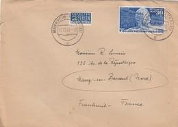 BRIEF BUND. Mi 116 EF. 17 12 49. MANHEIM-NECKARAU TO FRANKREICH - Lettres & Documents