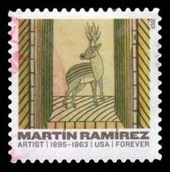 Etats-Unis / United States (Scott No.4971 - Martin Ramirez) (o) - Etats-Unis