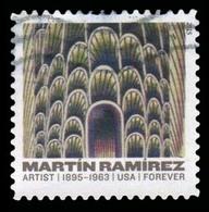 Etats-Unis / United States (Scott No.4972 - Martin Ramirez) (o) - Etats-Unis