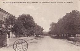SAINT-JOUIN DE MARNES - Entrée Du Bourg - Route D'Airvault - Saint Jouin De Marnes