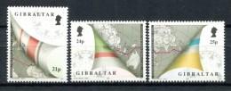 Gibraltar 1992. Yvert 651-53 ** MNH. - Gibilterra