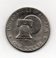 "Stati Uniti -  1976 - 1 Dollaro ""Eisenhower"" - Bicentenario - Vedi Foto - (MW1747) - Emissioni Federali"