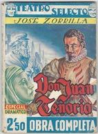 Dettagli Su  DON JUAN TENORIO. José Zorrilla. Teatro Selecto - Theatre