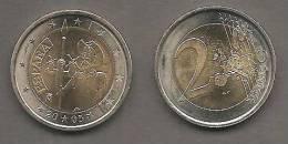 2005-ESPAÑA.MONEDA 2 EUROS.EL QUIJOTE. CIRCULADA (FDC) (MBC) - Spanje