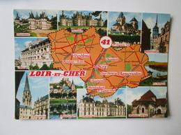 Loir Et Cher. Chambord. Saint Aignan Sur Cher Vendome. Montrichard. Cheverny. Blois. Chaumont. Romorantin. Valoire 941 - France
