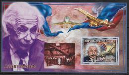 GUINEE   BF 321   * *  ( Cote 13e ) Abert Einstein Telescope Huble Avions Concorde - Albert Einstein