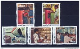 ANGOLA 1983 Postal Services - Angola