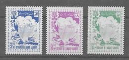 Serie De Arabia Saudí Nº Yvert 159/61 ** - Arabia Saudita