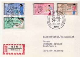 Postal History: Germany Set On R Card - Jobs