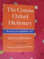 The Concise Oxford Dictionary. 1964. Dictionnaire En Anglais - Éducation/ Enseignement
