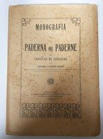 ALBUFEIRA - PADERNE- MONOGRAFIAS - «Monografia Paderna Ou Paderne» (Autor:Francisco X. D'Athaide Oliveira  -1910 ) - Livres Anciens