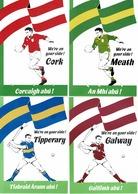 4 Post Cards - All Ireland Hurling Final 1988  (2 Scans) - Irlande