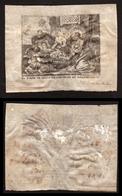 Kopergravure Op Perkament Tafereel Maria Jezus Engelen Cornelis VAN MERLEN - Religion & Esotérisme