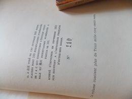 Côte D'Amour De Maria SANTA-CRUZ..1950 EDITION ORIGINALE DEDICACE PAR L AUTEUR.   DEDICACE.SIGNE.TRE RARE - Livres, BD, Revues