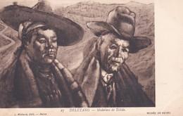 DELETANG. MULETIERS DE TOLEDE. MUSEE DE REIMS, L MICHAURD EDIT. CIRCA 1900's. UNUSED- BLEUP - Malerei & Gemälde