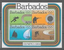 Hoja Bloque De Barbados Nº Yvert HB-19 ** - Barbados (1966-...)