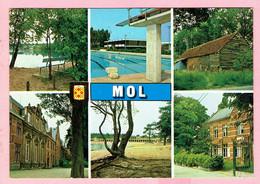 Groeten Uit MOL - 6 Zichtenkaart - Mol