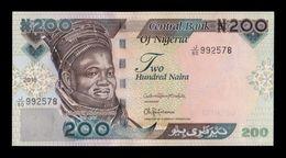 Nigeria 200 Naira 2018 Pick New SC UNC - Nigeria