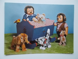 Attraktive Spieltiere Von Der Margarete STEIFF Gmbh 7928 Giengen , Egels, Beer, Hond, Tijger, - Autres