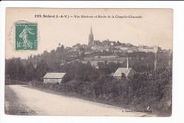 2973 - Bécherel - Vue Générale Et Route De La Chapelle-Chaussée - Bécherel