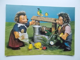 Attraktive Spieltiere Von Der Margarete STEIFF Gmbh 7928 Giengen , Egels, Kuikentjes, Vogels, - Animaux & Faune