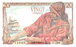 Billets > France > 20 Francs 1949 (comme Neuf) - 1871-1952 Anciens Francs Circulés Au XXème