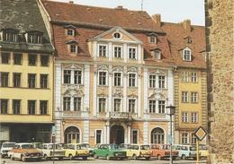 AK Görlitz Barockhaus Görlitzinformation Tourist Information Leninplatz Obermarkt 29 Trabant Wartburg Skoda Moskwitsch - Goerlitz