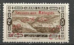 GRAND LIBAN  N° 69 NEUF* TRACE DE  CHARNIERE TB / MH - Great Lebanon (1924-1945)