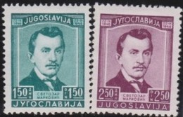 Yuguslavia      .      Yvert    .    453/454  .    *    .    Ungebraucht Mit Falz    .   /    .     Mint-hinged - 1945-1992 Socialist Federal Republic Of Yugoslavia