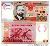 MOZAMBIQUE       100 Meticais       P-151       16.6.2011       UNC - Mozambique