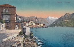 AK - PERASTO (Perast) - Blick Zur Altstadt 1916 - Montenegro