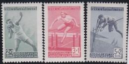 Yuguslavia      .      Yvert    .    502/504     .    *    .    Ungebraucht Mit Falz    .   /    .     Mint-hinged - 1945-1992 Repubblica Socialista Federale Di Jugoslavia