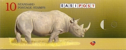 SOUTH AFRICA, 1997, Booklet 39,  Rhino, 10x1R Crane, Provisional Booklet - Libretti