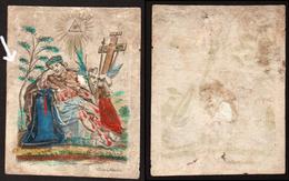 Kopergravure Lijdende Christus. Cornelis VAN MERLEN - Religion & Esotérisme