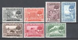 Malaya Malacca 1961 Mi 55-61 MNH - Malacca