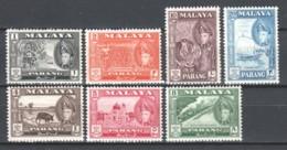 Malaya Pahang 1957 Mi 65-71 MNH (READ) - Pahang