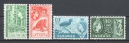 Malaysia Sarawak 1964 Mi 204-207 (wmk 5) MNH - Maleisië (1964-...)