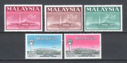 Malaysia 1965 Mi 14-18 MNH - Malasia (1964-...)
