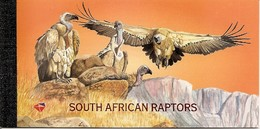SOUTH AFRICA, 1998, Booklet 48,  South African Raptors - Carnets